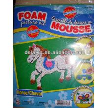 DIY foam sticker-eductional craft