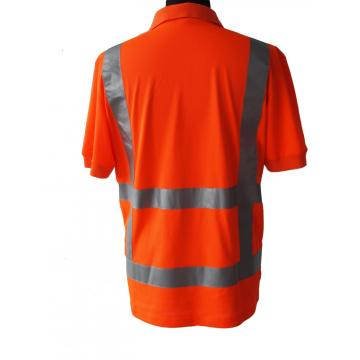 High Visibility Pique Working T-Shirt mit kurzen Ärmeln