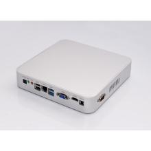 Безвентиляторный HTPC в Коди смотри Core мини ПК с Windows 10 VGA и HDMI для com порта USB3.0 Оптический Компьютер