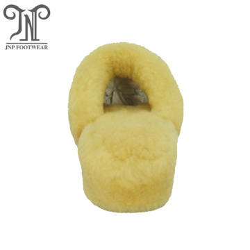 most popular winter indoor sheepskin full slippers
