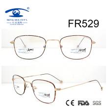Vintage Корея Стиль металлическая оптическая рамка (FR529)