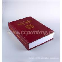 Hardcover Sewn Binding Book Printing