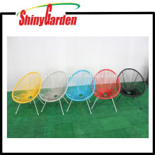 Steel And Rattan String Chair Acapulco Stackable Chair