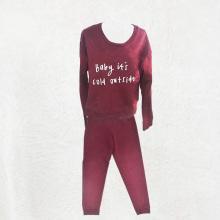 Пара красных пижам