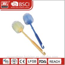 Haixing plastic toilet brush with holder, household brush, brush for toilet