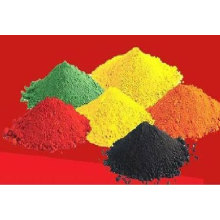 Óxido de ferro de pigmento vermelho / amarelo / preto / verde / preto