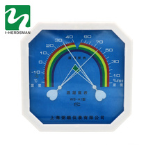 sling psychrometer with clock Pointer Thermometer And Hygrometer
