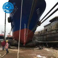 salvamento borracha airbag gerador de gás uso navio lançamento