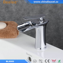 Single Handle Waterfall Bathroom Faucet