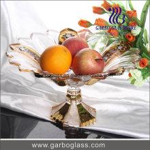 Bol en plaqué or plaqué pour fruits