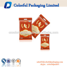 Saco de plástico de empacotamento impresso personalizado do produto com categoria do zíper com fechamento e punho do fecho de correr