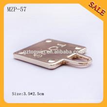 MZP57 Custom pu cuir femme mode sac à main pull sac à glissière tire