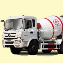 Camión mezclador de cemento Dayun 8X4 drive / hormigonera / camión mezclador / mezclador de polvo a granel / mezclador usado / camión mezclador