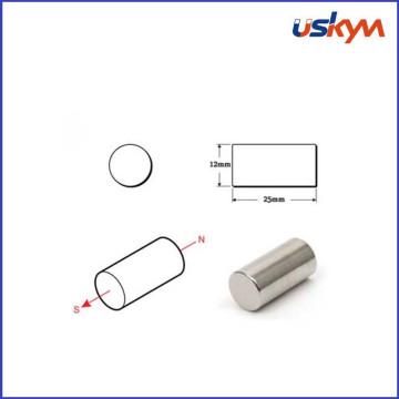 Ts16949 Certificatin Permanent Cylinder Neodymium Magnet N45