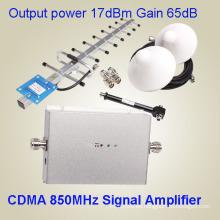 Amplificador de señal celular de alta calidad CDMA850MHz de uso de oficina