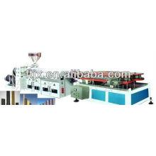 plastic corrugated pipe extrusion line/plastic corrugated pipe manufacturing plant