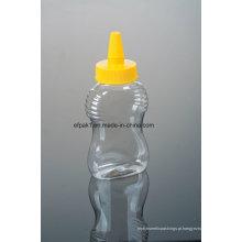 Garrafa de plástico de plástico de 500g PP com tampas de boca afiada (EF-H15)