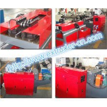 PVC PE PP Single Wall Corrugated Pipe Extrusion Line
