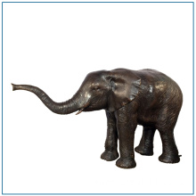Life Size Bronze Elephant Sculpture for Garden Decoration