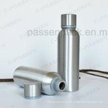Botella de aluminio de grado alimenticio de gama alta para envases de licor