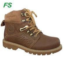 Bottes de travail en cuir pour hommes, bottes d'hiver, bottes