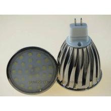 Éclairage d'ampoule de MR16 6W 7W 2835 SMD LED
