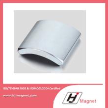 N42 Strong Rare Earth Permanent Arc Neodymium Magnet