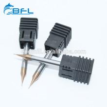Фрезы BFL с твердосплавными канавками и микро-диаметром для стальных наконечников