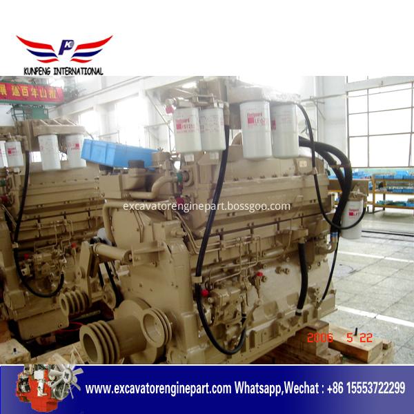 CUMMINS KTA19-C525 diesel engine for shantui SD42-3 Bulldozer