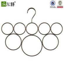 personnaliser le support d'affichage d'écharpe d'anneau en métal