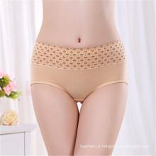 Pronto roupa de algodão de algodão para mulher zhudiman marca sexo feminino underwear sexy alta qualidade alta cintura underwear mulheres