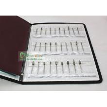 Бумажный образец для зубной лаборатории