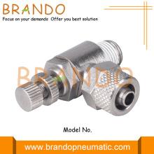 Pneumatic Cylinder Air Speed Controller Valve 1/4'' 3/8''