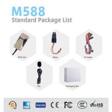 GPS Tracker Support Relay Отремонтированный автомобильный двигатель (GPS M588)
