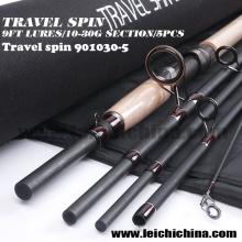 Venta al por mayor 9ft señuelo 10 - 30g Travel Spinning Fishing Rod