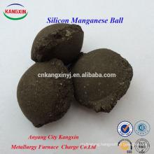 Industry Grade Briquette SiMn/Manganese Silicon as Metallurgy Deoxidizer
