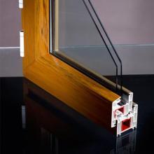 Janelas e portas uPVC feitas com perfil de PVC