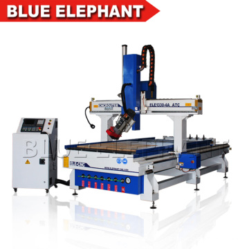 9kw HSD air cooling spindle atc auto tool change router wooden toys cnc machine for shop