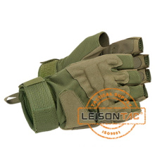 Tactical Half-fingered Gloves Using high quality Leather and Elasticity Fabric