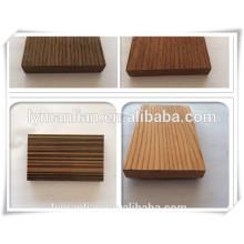 Bloques de madera de ingeniería ébano sapelie nogal roble rojo teca madera de álamo