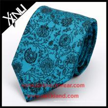 100% handgemachte perfekte Knoten Seide Jacquard Woven Floral Neck Tie Website akzeptieren PayPal