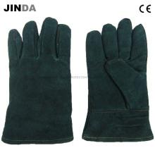 Работы по сварке коровьей кожи Промышленные перчатки (L004)