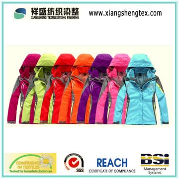 100% нейлоновая тефлоновая тефлоновая водонепроницаемая нейлоновая ткань для наружной спортивной одежды Down Proof