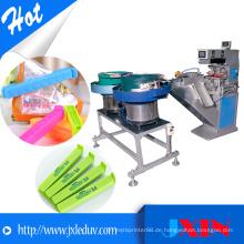 Automatische Doppelfarben-Tampondruckmaschine für Ziegelprodukte