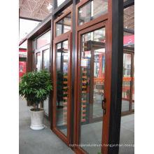 alu wooden window
