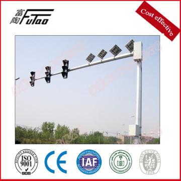 Poste de tráfico y postes de señales de tráfico de acero galvanizado