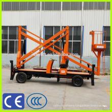 towable diesel engine mini boom lift
