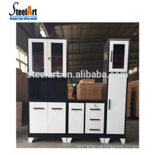 Steelart hot selling new model kitchen cabinet modern steel kitchen cabinet handle cabinet kitchen made in China