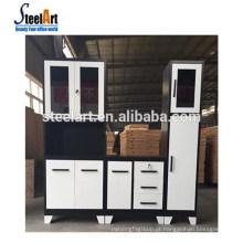 Steelart venda quente novo modelo de armário de cozinha moderna de aço armário de cozinha armário de cozinha punho made in China