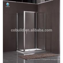 K-557 complet coulissant vitré cabine de douche fermée avec cadre salle de douche complète